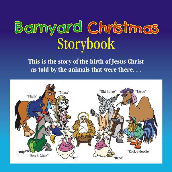 Barnyard Christmas storybook