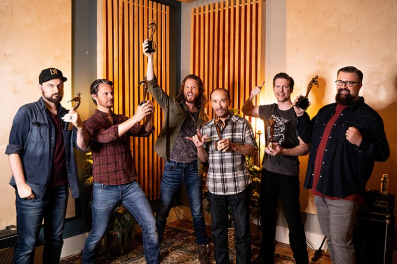 """Lee Greenwood and Home Free """"God Bless The USA"""" Telly Award win"""