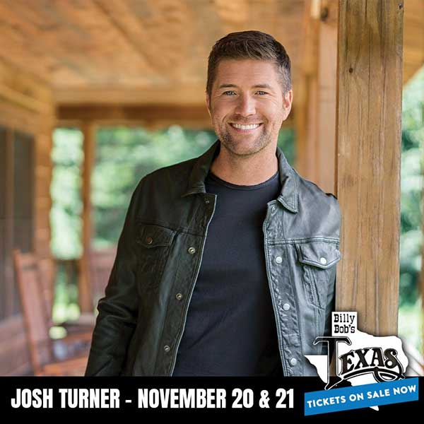 Nov. 20 & 21 - Josh Turner
