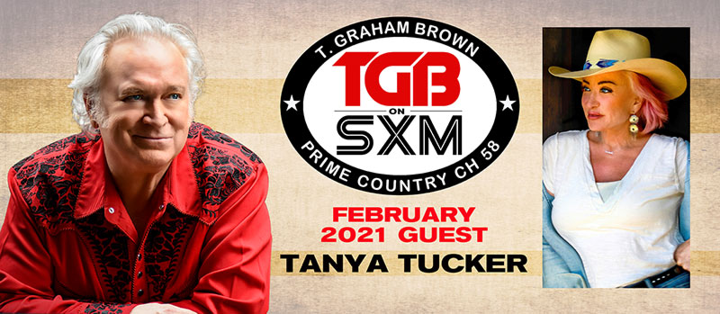 T. Graham Brown and Tanya Tucker SiriusXM Prime Country Channel 58
