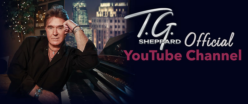 Visit T.G. Sheppard's new YouTube Channel!