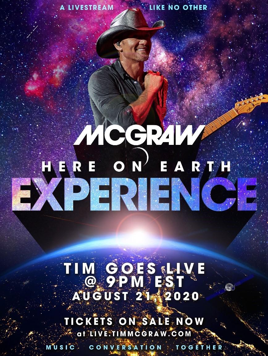 Tim McGraw Livestream Event
