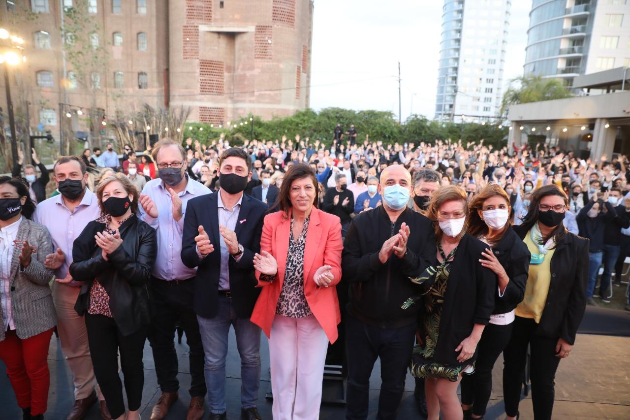 Fuerte respaldo del Frente Amplio Progresista a Clara García