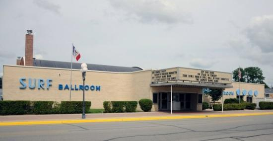Image result for surf ballroom picture in clear lake iowa""
