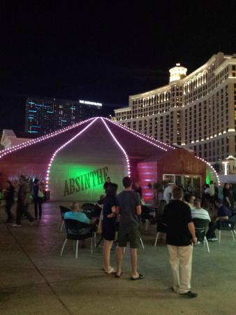 Image result for absinthe tent las vegas