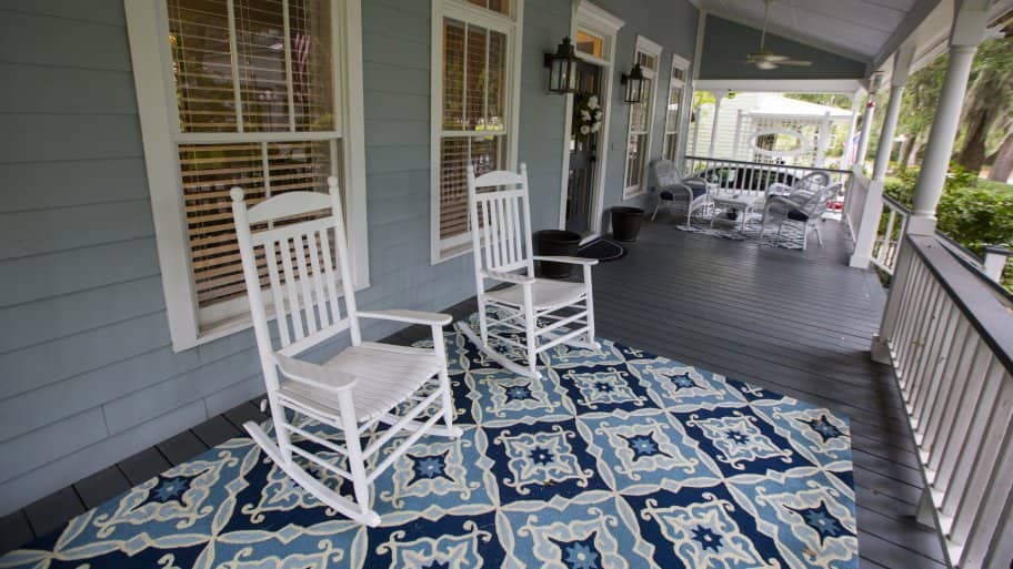 Image result for picture of a large front porch
