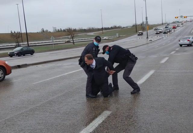Canadians Arrest Pastor
