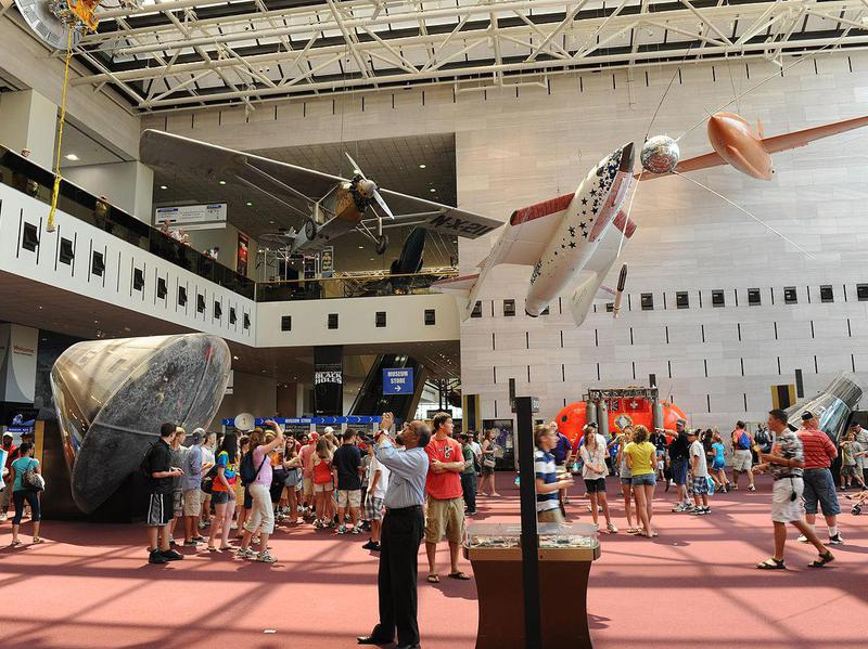 Aviation aficionados flock to this DC landmark.