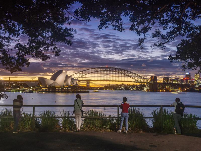 Most visitors see the Sydney Opera House from afar.