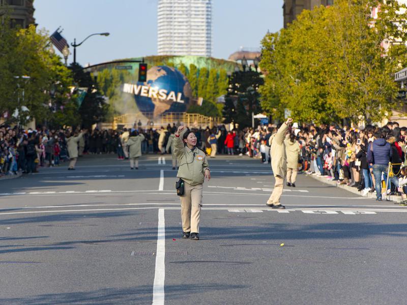 Universal Studios in Osaka, Japan.