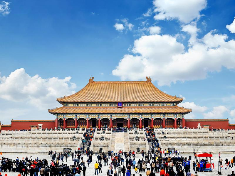 Forbidden City cracks the top 10 of the world's most visited attractions despite setting crowd limits.
