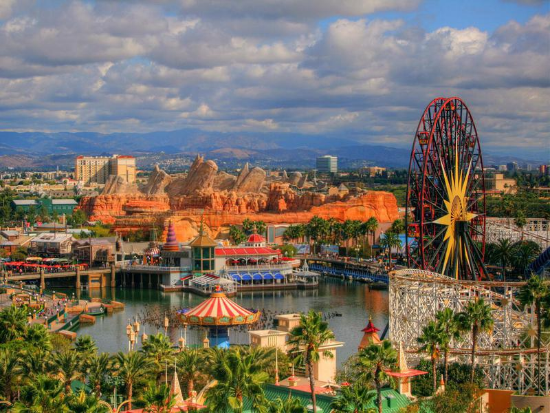 Disney California Adventure Park is focused on the history and culture of California.