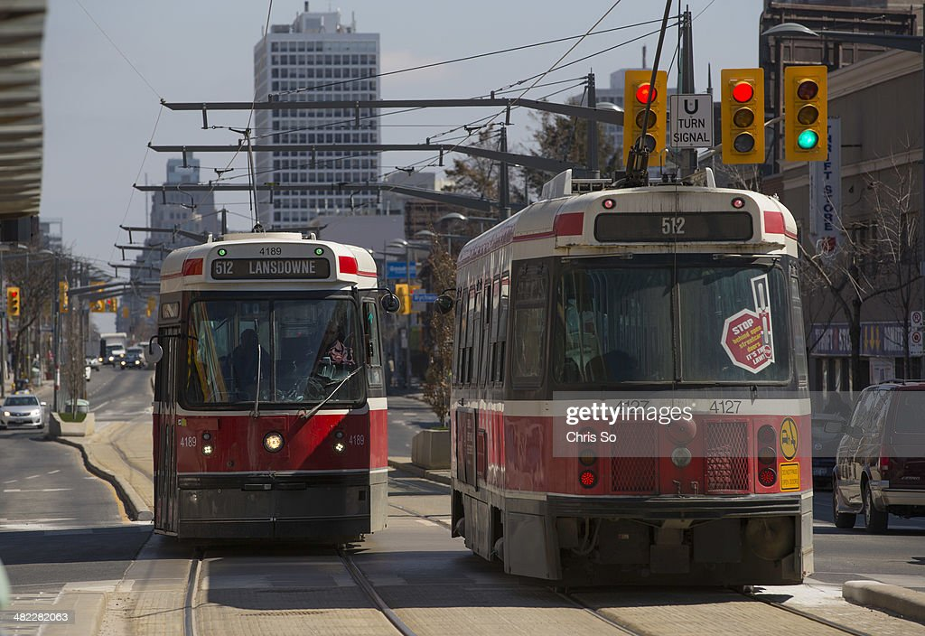Image result for st. clair streetcar right of way