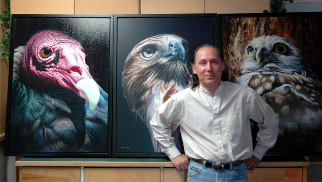 WILDLIFE IN ACRYLICS with DAVID KITLER @ The Astoria Art Loft