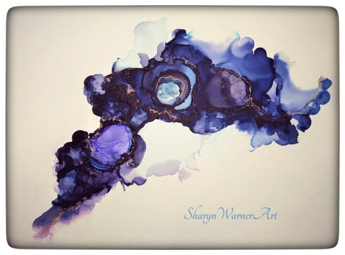 ALCOHOL INK with Sharyn Warner @ The Astoria Art Loft