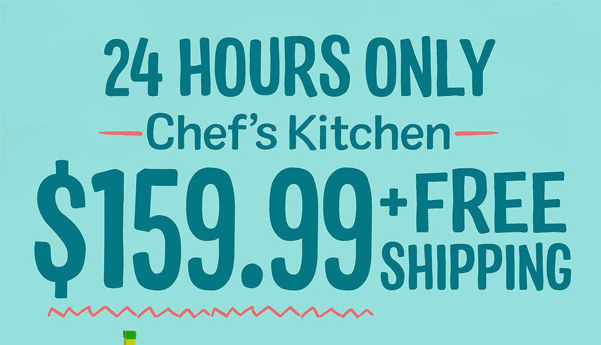 24 Hours Only - Cloud Kitchen - $159 + free shipping!