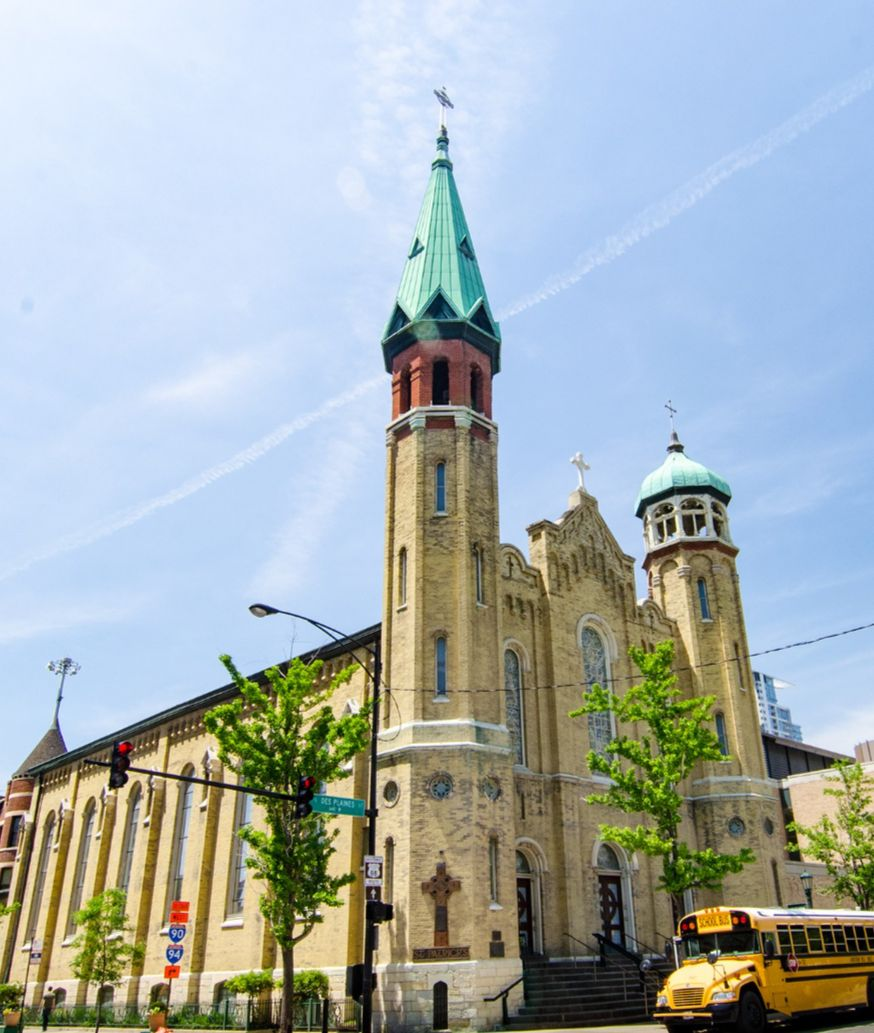 Churches by Bus