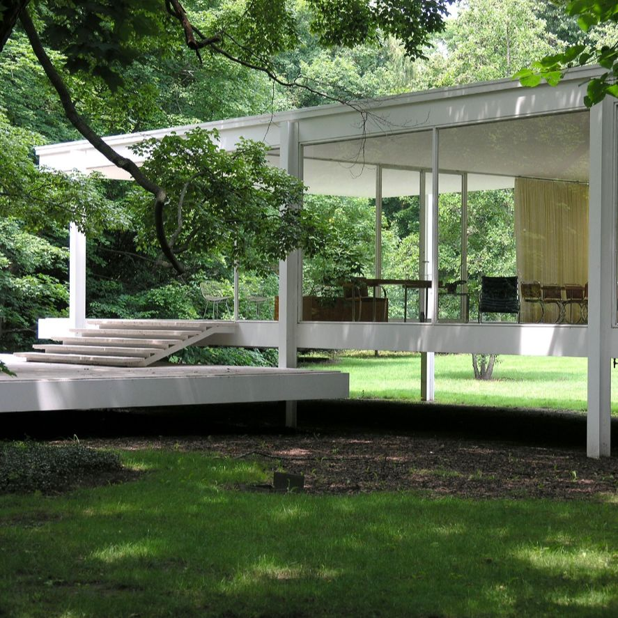 If the Walls of Farnsworth House Could Talk