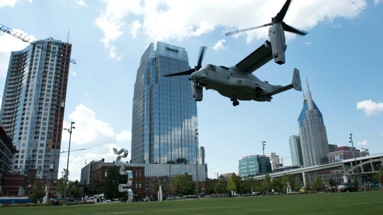 V-22 osprey Boeing Landing