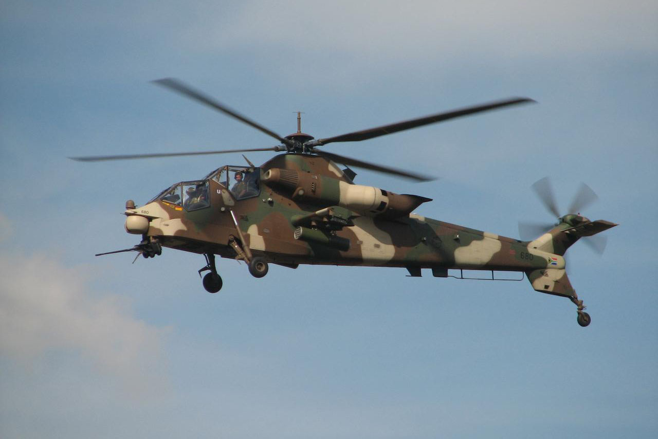 Denel Rooivalk Helicopter in Flight