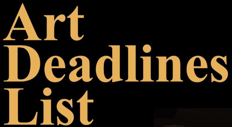 Art Deadlines List
