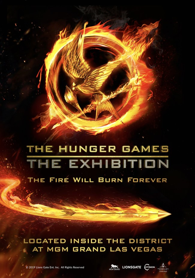 Image result for The Hunger Games: The Exhibition mGM Grand