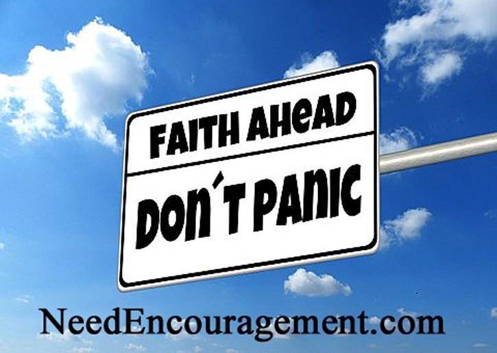 Stronger faith!