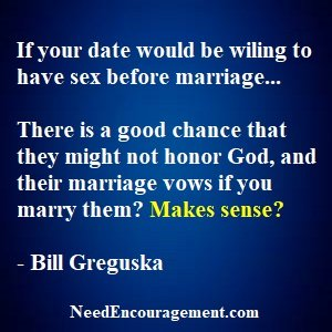 Sex Is For Marriage, Not For Dating!