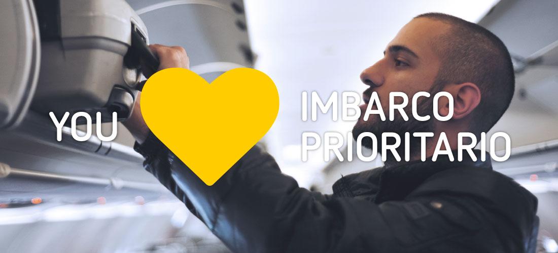 You ❤ Imbarco Prioritario