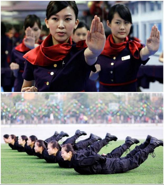 Став студентками, хрупкие девушки очень быстро переходят в разряд бойцов спецназа. | Фото: bodyguards.com.ua.