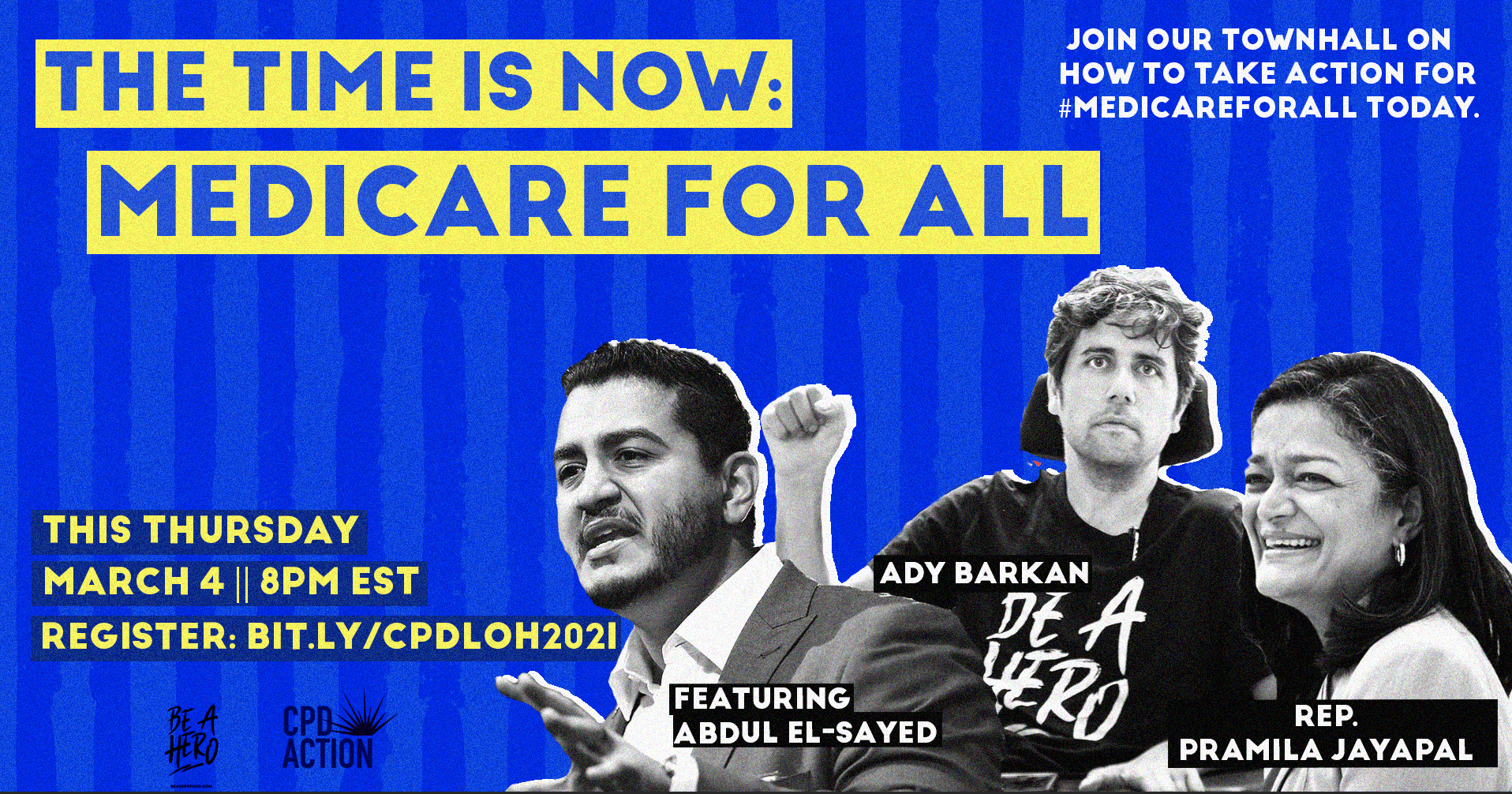 Medicare for All Town Hall @ Online