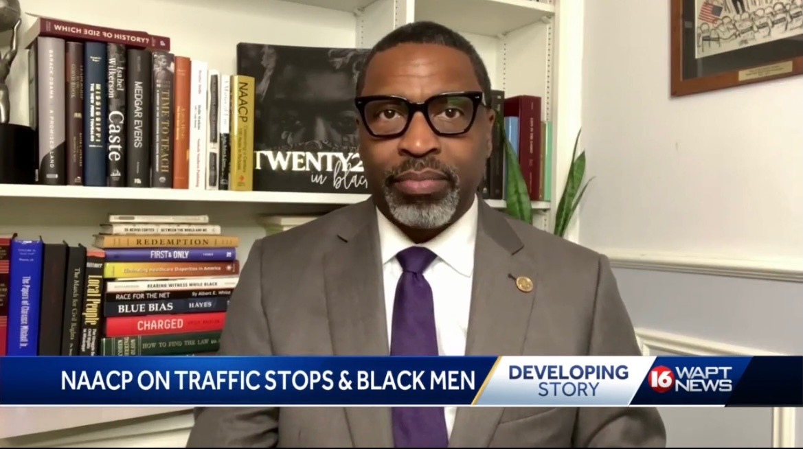 NAACP President and CEO on WAPT News