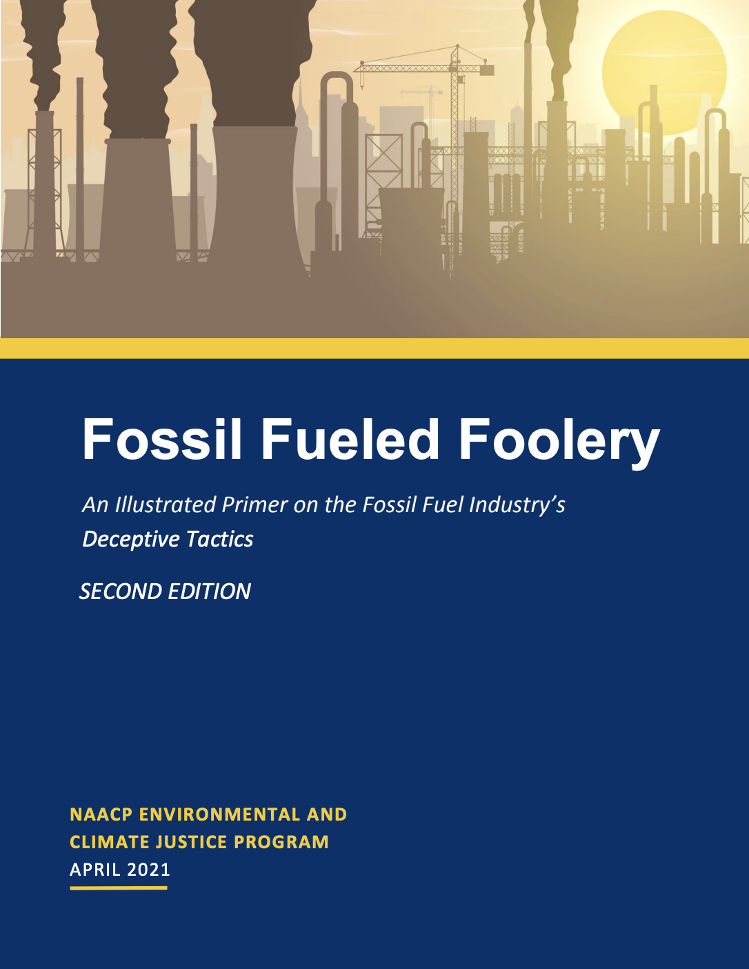 Read - Fossil Fueled Foolery NAACP
