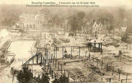 incendie exposition bruxelles 1910 tesla