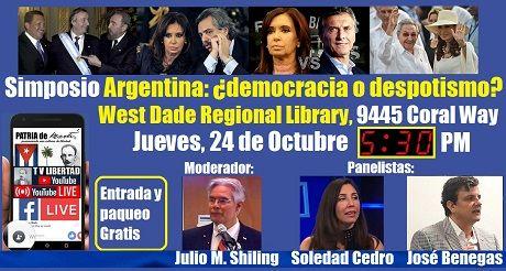 Invitacion Simposio Argentina Democracia O Despotismo