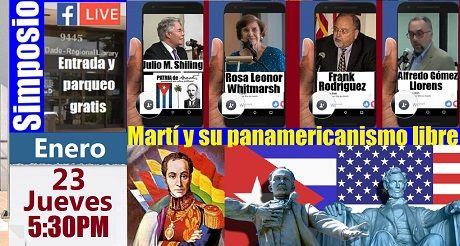 Invitacion Simposio Marti Y Su Panamericanismo Libre