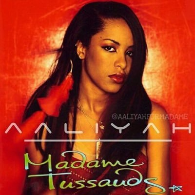 Image result for aaliyah madame tussauds