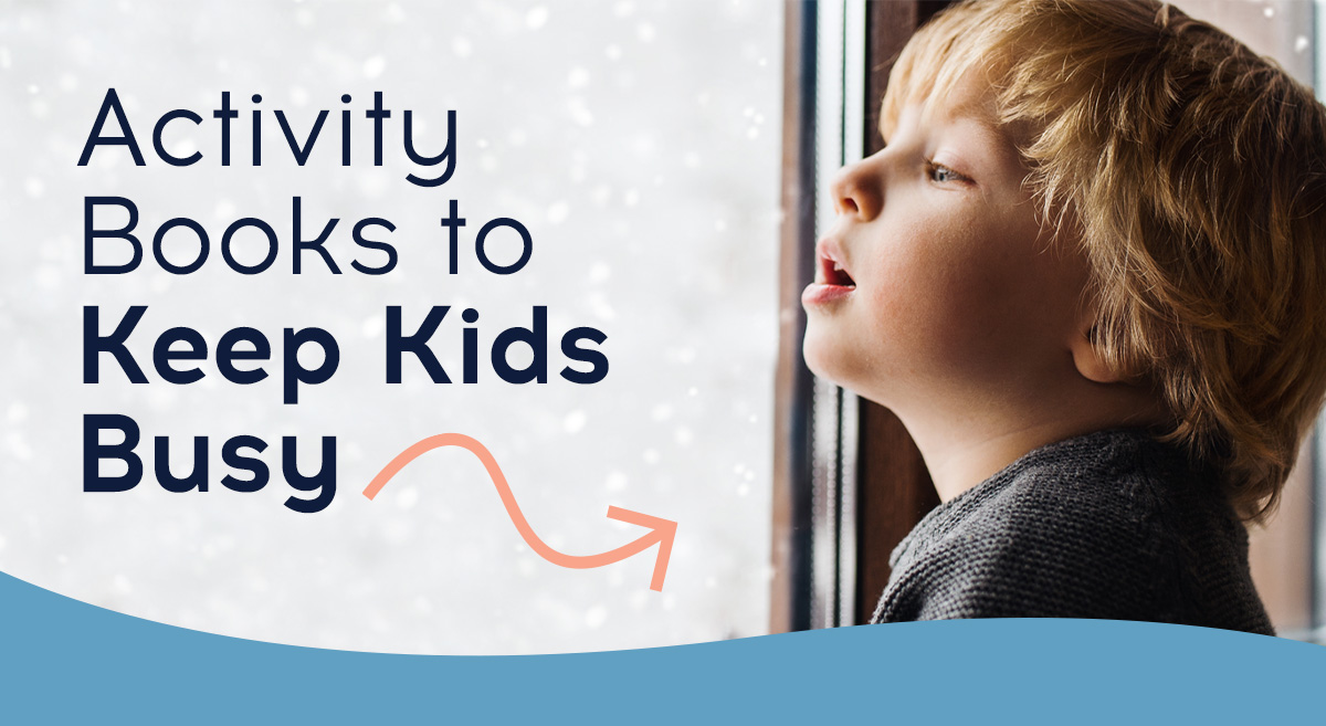 Activity Books to Keep Kids Busy