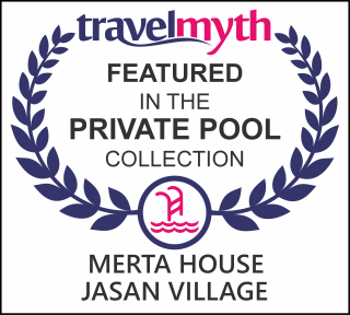 hotel with private swimming pool in Tegalalang