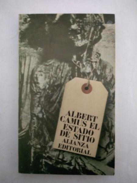 Resultado de imagen para fotografías portada libro estado de sitio de albert camus
