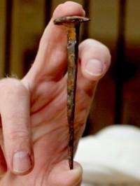 Crucifixion nail