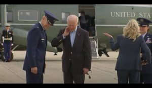 President Biden On High Alert Aboard AF1 While Chinese Test Hypersonic Missiles