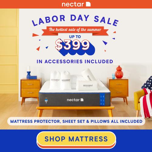 Nectar Labor Day Sleep Sale 2021