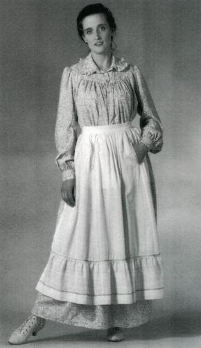 Folkwear Historic 1800s Prairie / Pioneer Dress