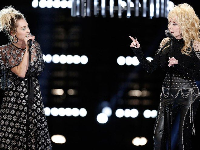 Image result for dolly parton miley cyrus jolene