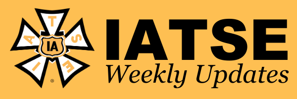 IATSE Weekly Newsletter 3/5/2021