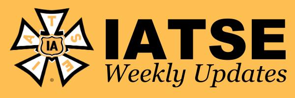 IATSE Weekly Newsletter 7/16/21