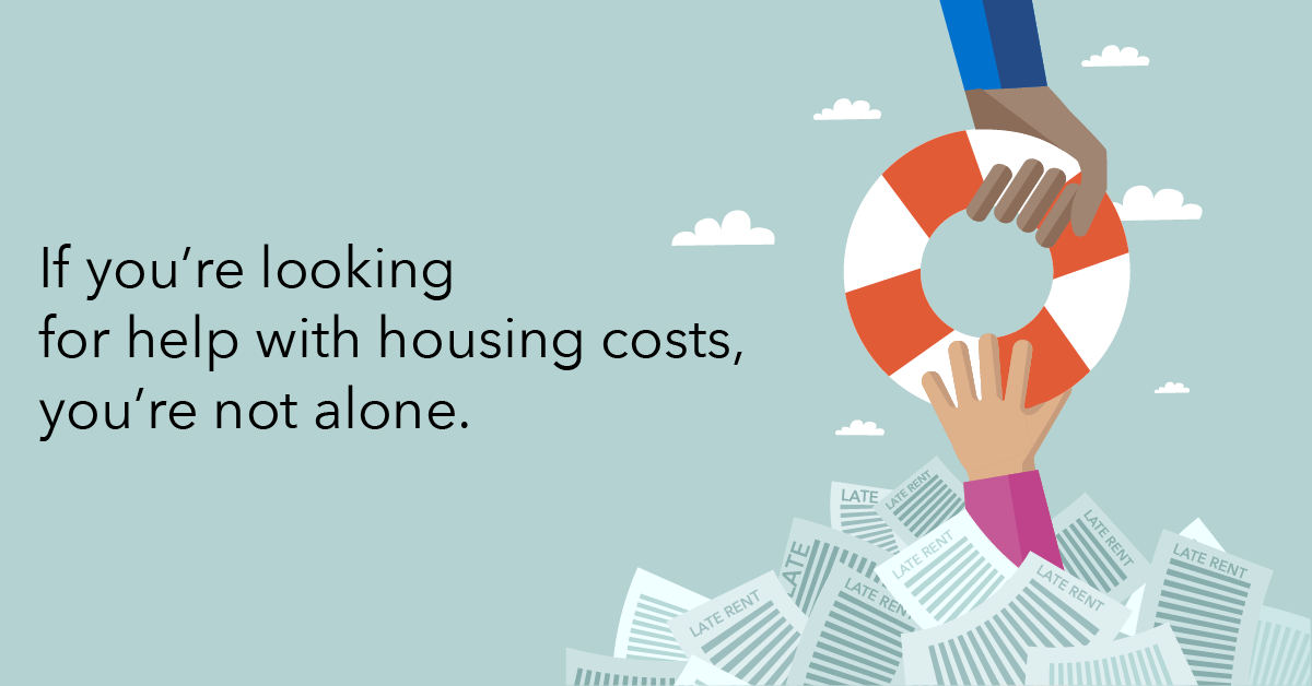 If you're looking for help with housing costs, you're not alone.