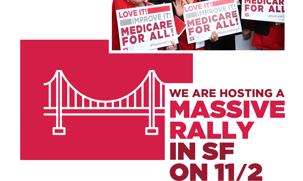 Image: We are hosting a massive rally in San Francisco on 11/2