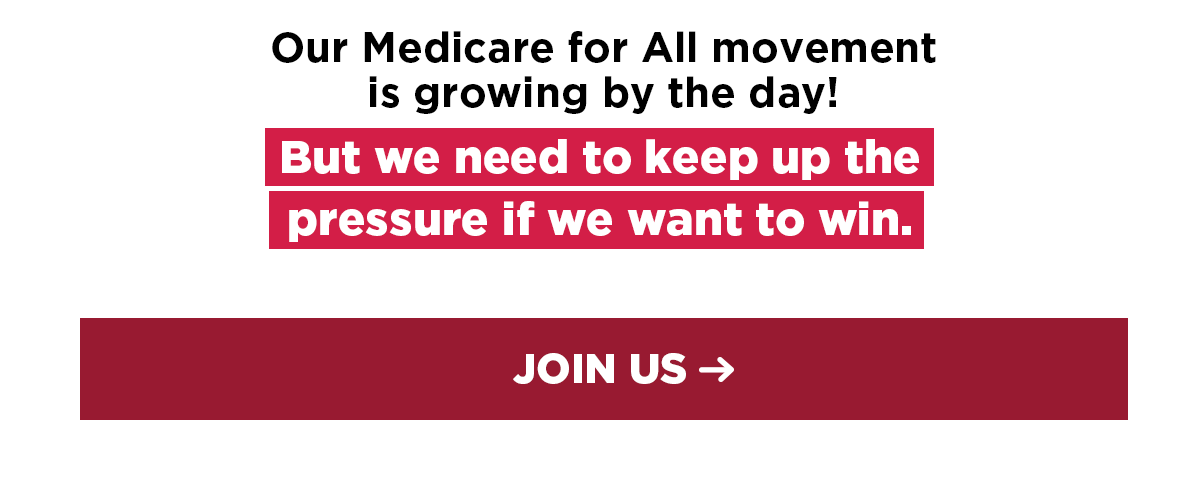 Image: Our movement is growing by the day, but we need to keep up the pressure if we want to win. JOIN US.